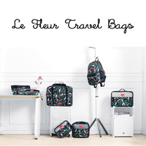Le Fleur Korea Travel Bag Water Resistant Cabin Bag Passport Holder Cosmetic Storage Organizer