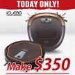★MAKE $350!!★ i-Clebo Arte/Omega Gold / YCR-M07-10 ROBOT VACUUM CLEANER ROBOTIC AUTO