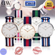 [DANIEL WELLINGTON] FOR HIM AND HER / 100% AUTHENTIC / MEN AND LADIES / CLASSIC CLASSY DAPPER SERIES / NATO AND LEATHER STRAP / FREE SHIPPING / WARRANTY INCLUDED