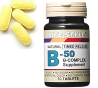 LIFESTYLE(ライフスタイル)ビタミンB-50コンプレックス60粒入[タブレット][エープライム][サプリメント][B群][0715124023100]upup7