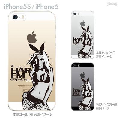 【iPhone5S】【iPhone5】【HAREM graphics】【iPhone5sケース】【カバー】【スマホケース】【クリアケース】 hgx-ip5s-033の画像