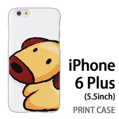 iPhone6 Plus (5.5インチ) 用『0723 干支 戌』特殊印刷ケース【 iphone6 plus iphone アイフォン アイフォン6 プラス au docomo softbank Apple ケース プリント カバー スマホケース スマホカバー 】の画像
