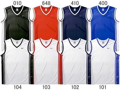 ナイキ (NIKE) DRI-FIT ベーシックチーム Vネックタンク 335252 [分類:バスケットボール ユニホーム・ゲームシャツ]の画像