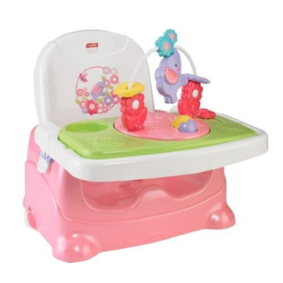 Qoo10 Fisher Price Pretty In Pink Booster Seat Elephant