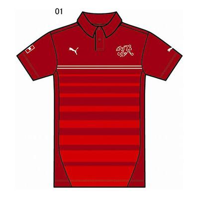 プーマ (PUMA) スイス SS ポロシャツ 744366 [分類:サッカー レプリカウェア (海外代表・海外クラブチーム)] 送料無料の画像