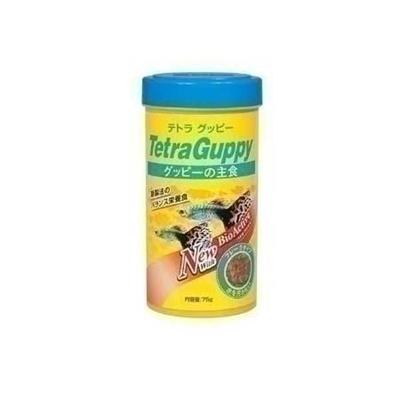 テトラ グッピーフード 75g 8180190 【ペット用品 熱帯魚・アクアリウム エサ】の画像
