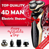 [VALENTINE DAY SPECIAL] Upgraded Version Men's Wet and Dry Electric Shaver / Nose Beard Hair Trimmer Face Brush / Water Proof / Easy Cleaning / Cordless / All Degree Shaving / CHRISTMAS GIFT