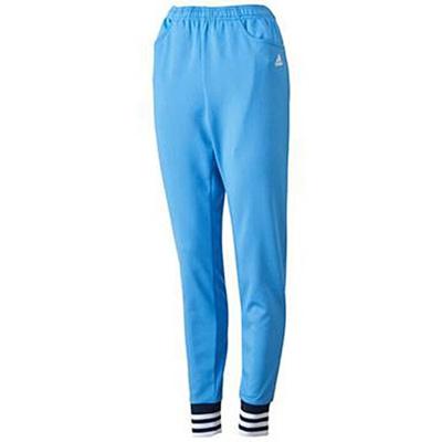 アディダス(adidas) W adidas24/7 ジャージ 裾リブパンツ(WOMEN'S) ADJ KBZ27 S92935 ラッキーブルー S15 【レディース ジャージ スポーツウェア ウィンドウェア パンツ】の画像