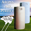 🌸Portable Aromatherapy Air Purifier By Element with Power Bank Features