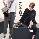 ★ Korea fashion industry NO.1 Naning9 ★limited special price ♥ incredible bargain ♥ 2015 F/W New! High Quality! Wool banding pants