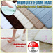 2016 Latest and High Quality Memory Foam Floor Mat Ready Stock