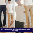 [COUP] Authentic Korean Design/MENS PANTS COLLECTION/ BUY 2 GET FREE BRANDED CARGO BELT