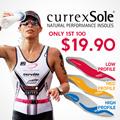 Currexsole (Foot Disc) Orthotics Sports Insoles Running Biking