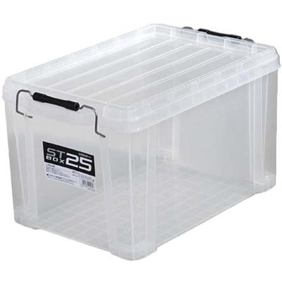 アステージ(ASTAGE)STボックスクリア#25AST-481【DIY収納ボックス工具箱プラケース収納コンテナ】
