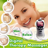 Low-frequency Digital Therapy Massager with Pulse Pad / Reduce pain and stiffness / Health Care / Slimming