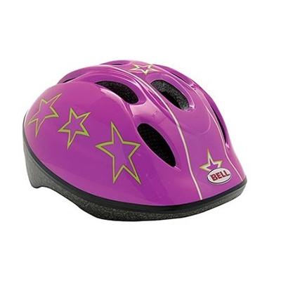 ベル(BELL) ZOOM/ズーム ヘルメット 自転車 サイクリング KIDS&YOUTH キッズ ピンクミスUSA XS/S 48-54 7048245 【子供 安全 スケート 女の子 男の子】の画像
