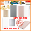 [CHEAPEST!]★100% Authentic Xiaomi★SG Shop 5000 10000 16000mAh 20000mah powerbank New Rose GOLD slim