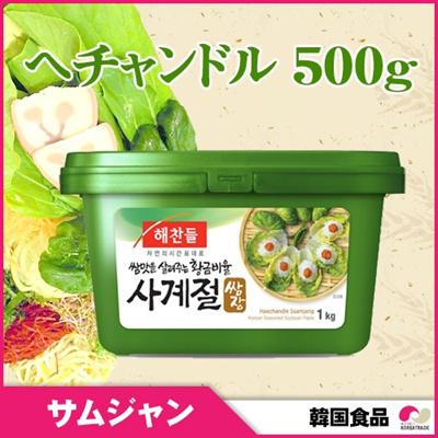 サムジャン味噌 500g [ヘチャンドル] 【韓国サンチュ味噌】の画像