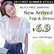 New Arrived 2015 Hot Design Over 200 Design Fast delivery with 1-2 days Korea Styles/T-shirt/Chiffon Top/UK-US Style Limitted offer Buy 3 Free Shipping
