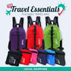 [Local Instock]★Foldable Waterproof Backpack★Unisex★Assorted Colours