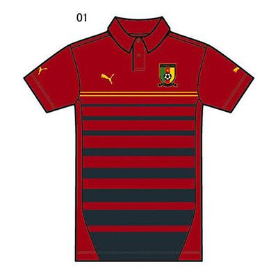 プーマ (PUMA) カメルーン SS ポロシャツ 744540 [分類:サッカー レプリカウェア (海外代表・海外クラブチーム)] 送料無料の画像