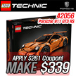 [ONLY 1DAY MAKE $339!] LEGO Technic Porsche 911 GT3 RS Toys/ 911 GT3 RS 42056