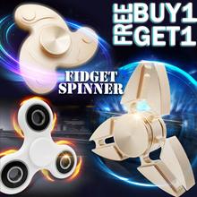 [Red]BUY 1 GET 1 FREE★ EDC FIDGET HAND SPINNER / Fidget cube Original MATT FEEL★Stress Toy★