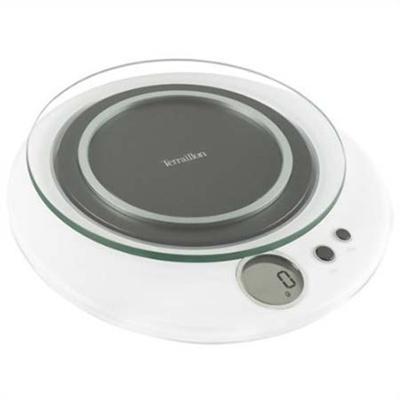 ドリテック デジタルスケール ハロ 3kg ホワイト TKS715WT 【ホーム&キッチン 調理器具 はかり・計量用品】の画像