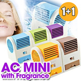 [SPECIAL ANNIVERSARY 3rd Qoo10] 1+1 AC MINI WITH FRAGRANCE limited offer