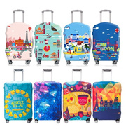 Local Delivery**28 NEW COLORS ARRIVAL** Elastic Luggage Cover|Travel Luggage Bag Protector Cover