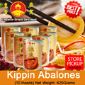 [STAR BUY] Kippin Abalones(10H) 120gm New Promotion/ 4 Outlets to Redeem!!