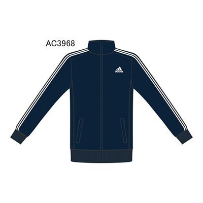 アディダス (adidas) M ESS EH 3S ジャージジャケット LKE11 [分類:ジャージ 上 (メンズ・ユニセックス)] 送料無料の画像