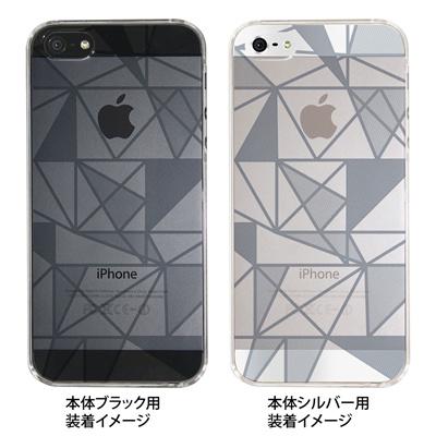 【iPhone5S】【iPhone5】【iPhone5ケース】【カバー】【スマホケース】【クリアケース】【トライアングル】 ip5-06-ca0021jの画像
