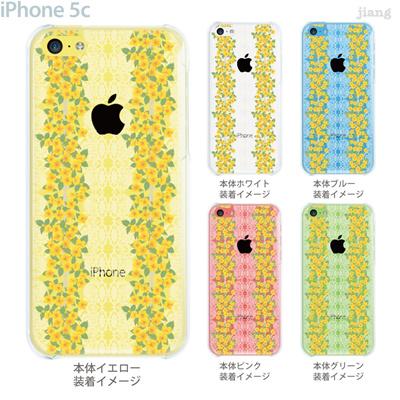 【iPhone5c】【iPhone5cケース】【iPhone5cカバー】【iPhone ケース】【クリア カバー】【スマホケース】【クリアケース】【フラワー】【Vuodenaika】 21-ip5c-ne0061の画像