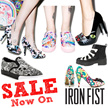 [Iron Fist] Xmas Sale 80% off-USA offically licesed shop/high heels//heels/wedges/platform/platform shoes/creeper/shoes/shoes woman/lady shoes/misfits/skull/fashion/my little pony