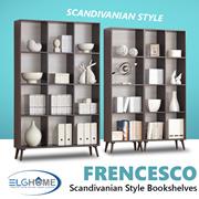FRENCESCO Multifunction Bookshelves/Storage/Book Rack/Bookshelf/Cabinet/Furniture/Organizer/Bookcase