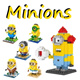 [Taiwan] ☆Building blocks - Minion☆ Over 30 designs. Great gift idea. Cheapest fast delivery friendly seller