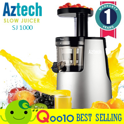 New Slow Juicer Signora : Qoo10 - ?Aztech Slow Juicer SJ1000? Cold Press HU-500DG HH-SBF11 New Slow Citr... : Fashion ...