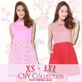 ♥♥♥ CNY Collection♥♥♥XS-3XL DRESSES  [IN-HOUSE DRESSES] Premium quality!♥♥♥