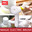 [ABMKOREA] Magic Electric Brush / Cleaning Sponge / Clean kitchen / Bathroom Supplies / 3Brush