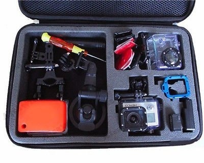 【クリックで詳細表示】GPCS-L: i.Trek Gopro Hero 1 2 3 3+ HD Camera Large Hardshell Case