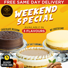 Weekend Special 3 Flavors featuring Sea Salt Caremel