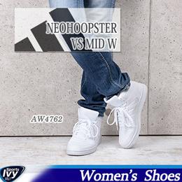 送料無料 アディダス NEOHOOPSTER VS MID W AW4762 adidas 【2016年秋冬 新作】 ランニング シューズ カジュアル スニーカー セール 8000円以上送料無料