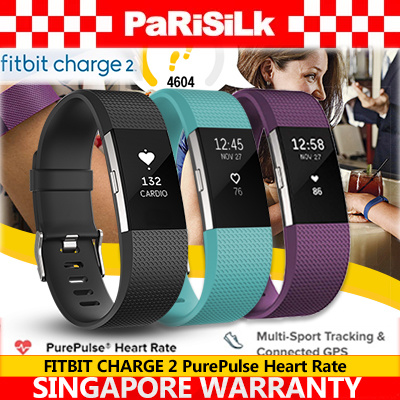 FREE DELIVERY FITBIT CHARGE 2 PurePulse Heart Rate / Multi-Sport Tracking Connected GPS / CALL Deals for only S$248 instead of S$0