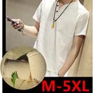 [送料無料]T126 メンズファッション カジュアルなTシャツ 日係/半袖Tシャツ/メンズ/亜麻/復古/麻綿/半袖/半袖Tシャツ