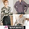 ♣ New Arrival!! Woman Fashion Printing / Jacquard Korea Blouse ♣ Dot/Check/Stripe/Fast Delivary