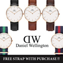 Daniel Wellington Watch For Him and Her / 100% Authentic