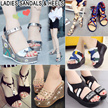 2017 Ladies Sandals / Heels Flats / Slippers / Wedges / Casual shoes / Beach shoes / Princess shoes