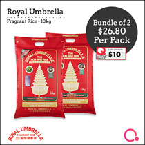 [Topseller] Royal Umbrella - 5KG/10KG THAI FRAGRANT RICE!| QUALITY RICE!