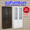 ~~New White Glossy Book Case/ Book Shelf For Sale~~By Juz Living**Free Installation**